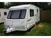 ELDDIS AVANTE 482 End washroom 2007. MOTOR MOVER. 2 berth lightweight touring caravan..