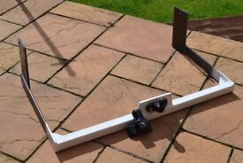 motor home tow bar/bike carrier support came off elddis 145 may fit other models