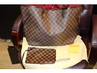 Louis Vuitton GM (large) Neverfull / brand new/ brown