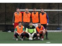 WEDNESDAY 5 A SIDE FOOTBALL LEAGUE AT MILE END - ONLY £35