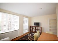 Recently decorated one double bedroom flat on the 3rd floor with 24-hour concierge.
