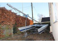 Dart 18 foot Catamaran with road trailer