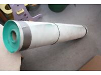 Part Roll of Green Breathable Felt