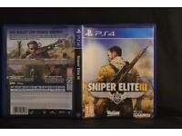 PS4 GAMES sniper elite 3 & deadpool