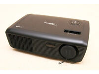 Optoma HD600X DLP home cinema projector, 1280x720 HD resolution, only 277 lamp hours (faulty)