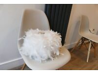 White feather light shade