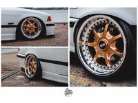 "Genuine BBS RT 17"" Splits, 5x120 BMW fitment"