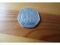 rare scout 50p coin