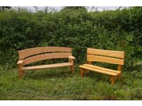 Rustic Welsh Benches