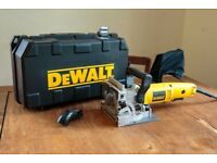Dewalt DW682K Biscuit Jointer 240V inc Case