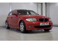BMW 1 Series 1.6 116i Sport 5 Dr Full Service History, New MOT, Parking Sensors