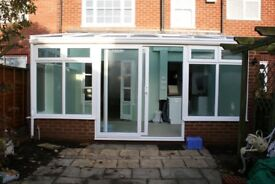 Beautiful large conservatory - only 8 years old