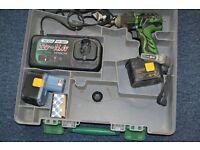 Hitachi 14.4 v WH14DAF 2 cordless impact drill
