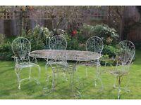 Metal Garden Furniture For Sale