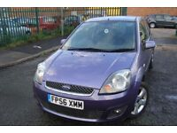 FORD FIESTA (Freedom) 1.4ltr _3dr *** LOW MILES-PARKING SENSORS-FREE DELIVERY- CHEAP INSURANCE ***