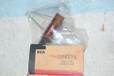 Inductor Rca Service Parts New Nos Nib 224174 Use As Slug-tuned Coil Form