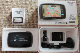 TomTom GO 5000 Europe Sat Nav with Free Lifetime Map and Traffic