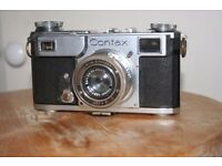 Zeiss Contax vintage film camera