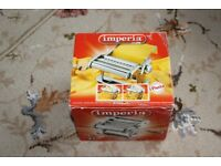 Imperia Pasta Machine including additional spaghetti attachment - Brand new in boxes