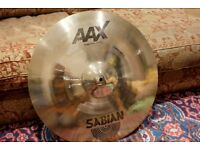 Sabian 20 inch AAX Stage ride cymbal brilliant finish