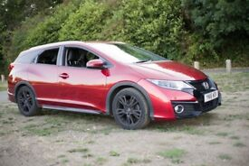 2016 Honda Civic Tourer 5-Door 1.6 i-DTEC SR Plus Manual Estate