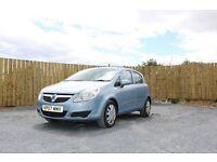 2007 Vauxhall Corsa Club, Blue, 1.2 Petrol, 2 Keys, Serviced