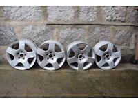 Audi A4 16 Inch Alloy Wheels (four)