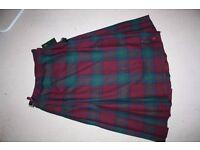 Woman's kilt/ skirt. Brand new, unwanted gift