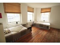 LARGE TWIN ROOM WITH A LOVELY BALCONY IN ARCHWAY AREA NEARBY TUBE STATION. 4B
