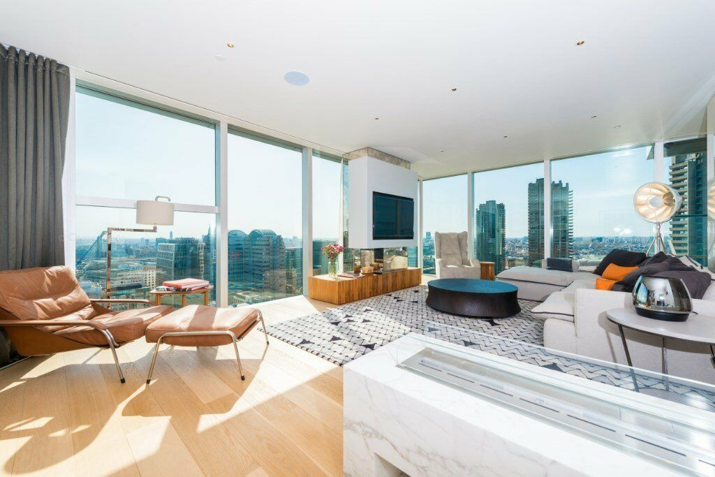 LUXURY 3 BED 3 BATH LUXURY APARTMENT IN THE HERON, MOOR LANE, MOORGATE EC2 THE CITY LIVERPOOL STREET