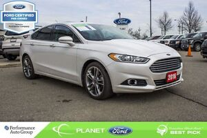 2016 Ford Fusion Titanium FORD CERTIFIED LOW RATES & EXTRA WARRA