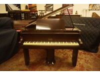 Art Deco small baby grand piano - tuned & UK delivery available