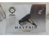 New Nicky Clarke Hairdryer from his Mayfair Collection. (RRP £34.99)
