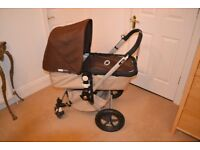 Bugaboo Cameleon Pram and Buggy with accessories