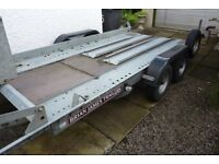 Brian James Clubman twin axle trailer