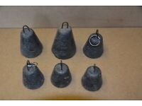 Sea Fishing Weights, Bell Type