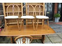 An Ercol Dining Table