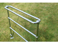 Great Old Towel Rail In Chromium Plated Finish
