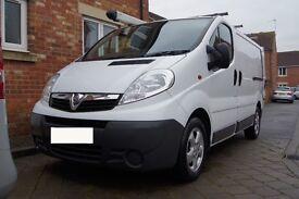 No Vat | 2007 Vauxhall Vivaro | Alloys Wheels | Roof rack | Spare wheels | Tool safe | Ply lining |