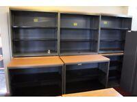 Steel office shelves ONLY £15 PER EACH