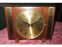 Retro Mantle Clock 1950s/60s