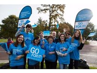 Great North Run volunteers needed for Parkinson's UK - Sunday 11 September