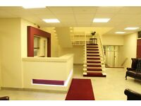Professional and Modern offices available for immediate rent on Short or long term basis