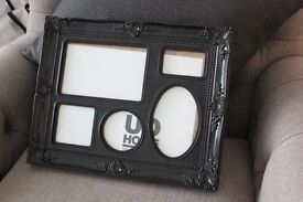 Black Urban Outfitters Rococo Frame Multi Photo