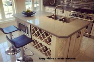 Kitchens, Vanities & Stone Counters @ Factory Prices! Quartz, Marble, Granite & More! Check Out Our Reviews!
