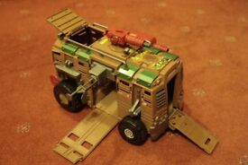 Shellraiser - Teenage Mutant Ninja Turtles Truck - complete but not supplied with figures