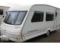 Swift Corniche 17/3 1998 3 Berth Caravan + Full Awning