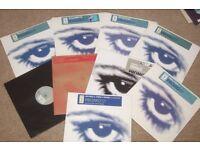 """9 x 12"""" Xtravaganza Records Vinyl Collection.... TRANCE...EX CON!!"""