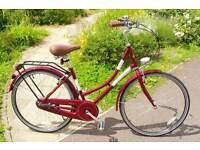 """17"""" Ladies, Vintage-Style Bike"""