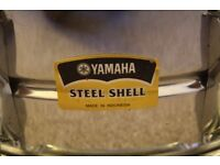 Yamaha Steel Shell Snare Drum